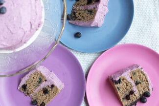 Blueberry 1st Birthday Smash Cake Recipe
