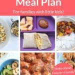 august meal plan pin 1