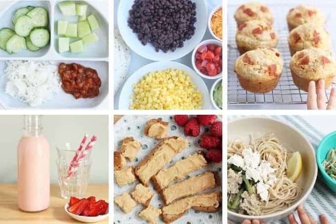 august-week-3 meal plan grid