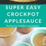 crockpot applesauce pin 1