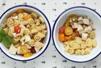Healthy Pasta Salad with Chicken