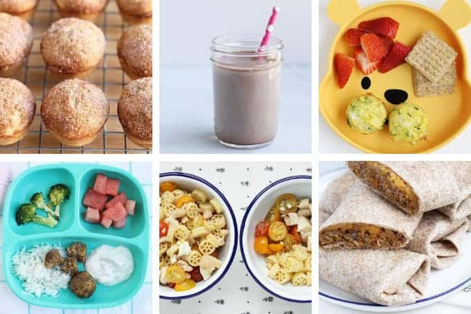 september meal plan in grid