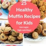 healthy muffins pin