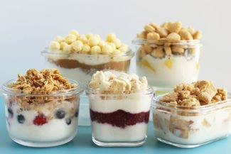Healthy Yogurt Parfaits