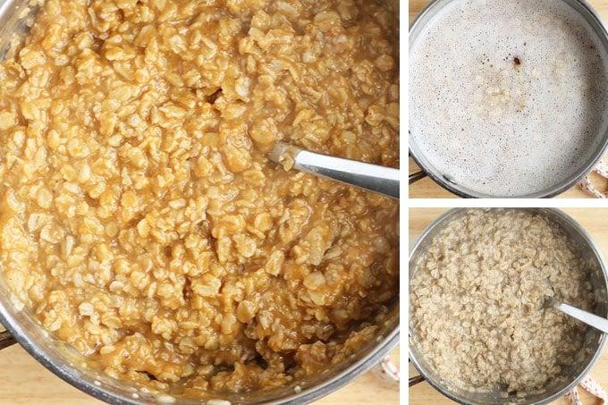 how to make pumpkin oatmeal step by step