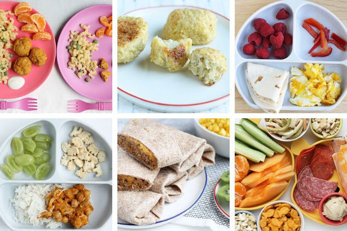 November fall recipes in grid of 6