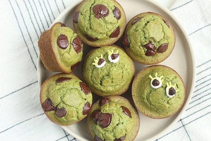 halloween-spinach-muffins