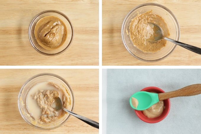 how to make peanut butter baby food