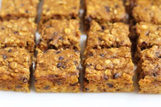 Healthy Pumpkin Bars Recipe with Oatmeal