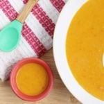 red lentil soup for parent and baby