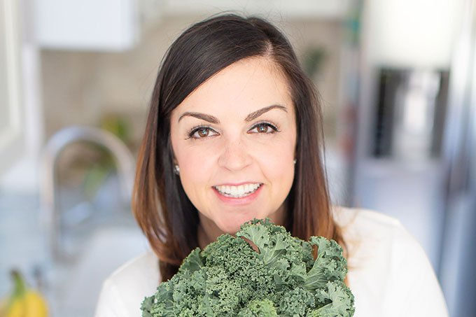 mary ellen phipps with kale