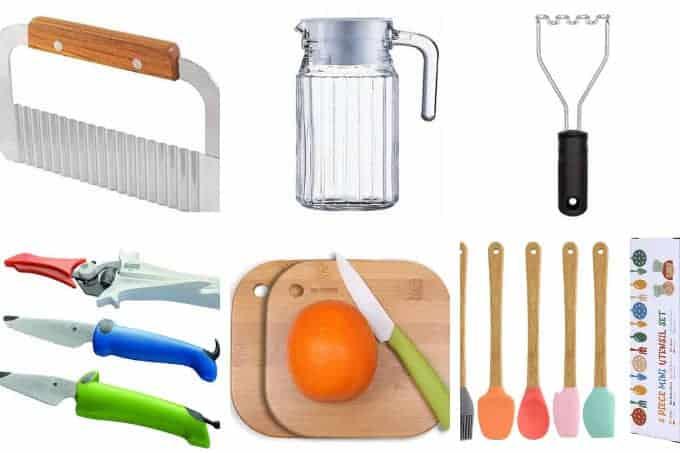 kids-cooking-tools-in-grid-of-6