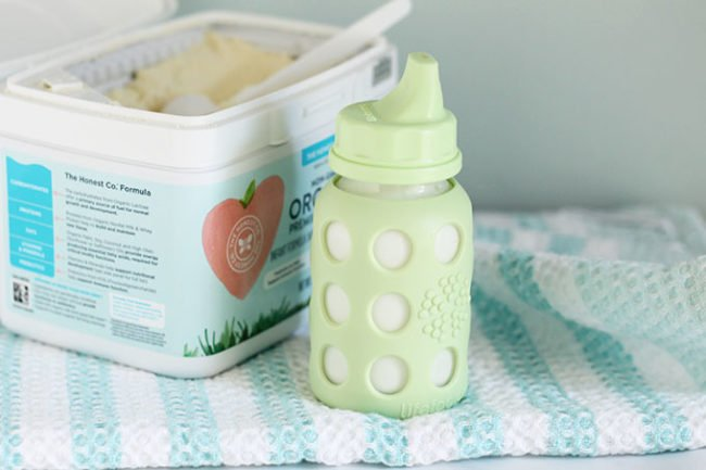 toddler sippy cup and baby formula