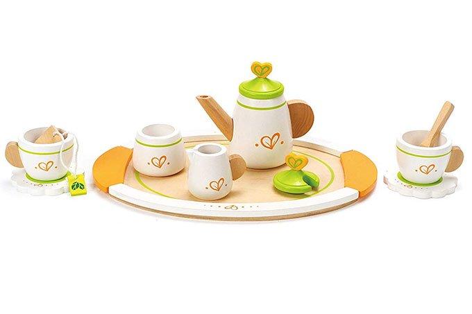 hape tea set for toddlers