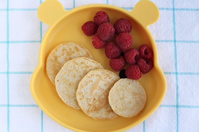 four-cottage-cheese-pancakes-with-raspberries