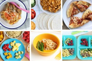 Healthy Family Meal Plan for January