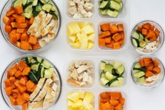 Chicken and Sweet Potato Meal Prep Bowls