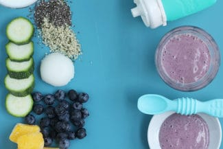 Blueberry Constipation Smoothie