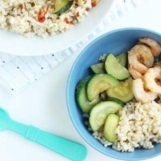 easy teryiaki shrimp