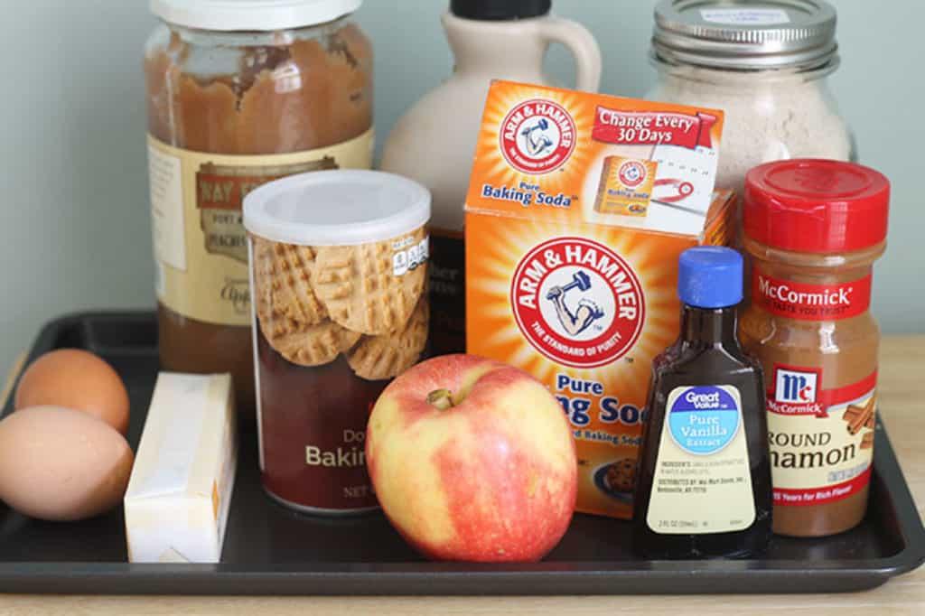 ingredients-in-healthy-apple-cake