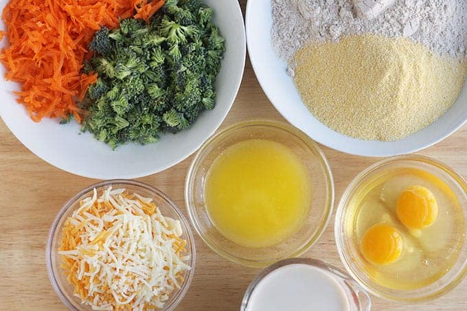 ingredients-in-veggie-muffins