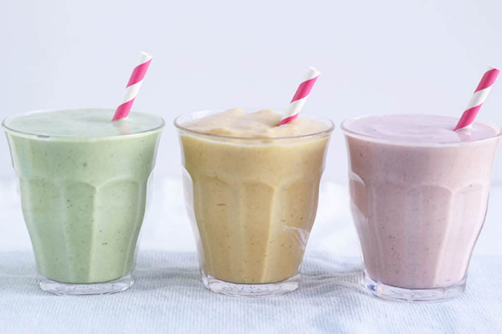 veggie protein shakes for kids in cups