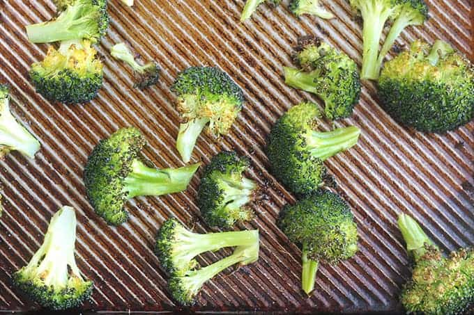 roasted-broccoli-on-sheet-pan