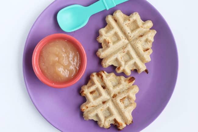 whole-wheat-waffles-on-purple-plate