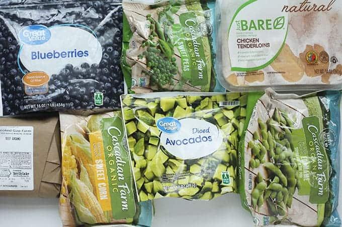 best frozen foods for families