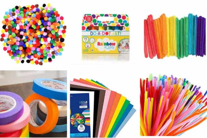 15 Best Craft Supplies For Kids Low Cost Easy To Use