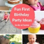 first birthday party ideas pin 1