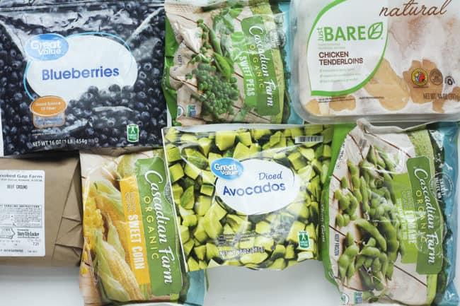 frozen-food-on-countertop