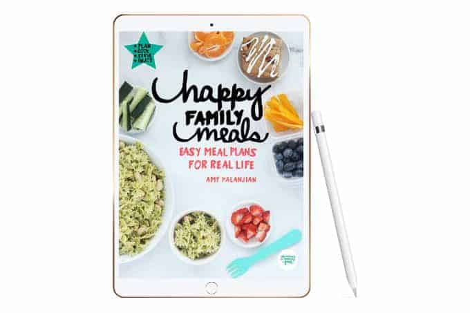 happy family meals ipad mock