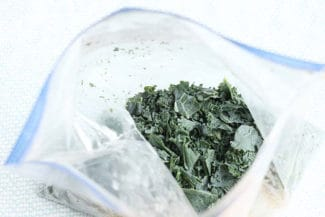 How to Freeze Greens for Smoothies