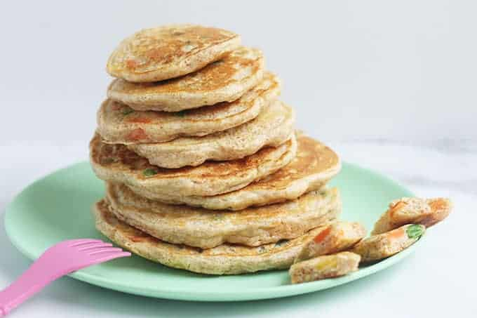 stack-of-vegetable-pancakes