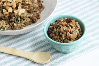 One-Pot Lentils and Rice (with Dried Fruit)