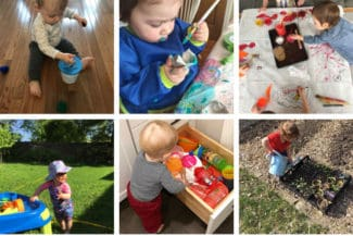 100+ Easy Activities for One Year Olds