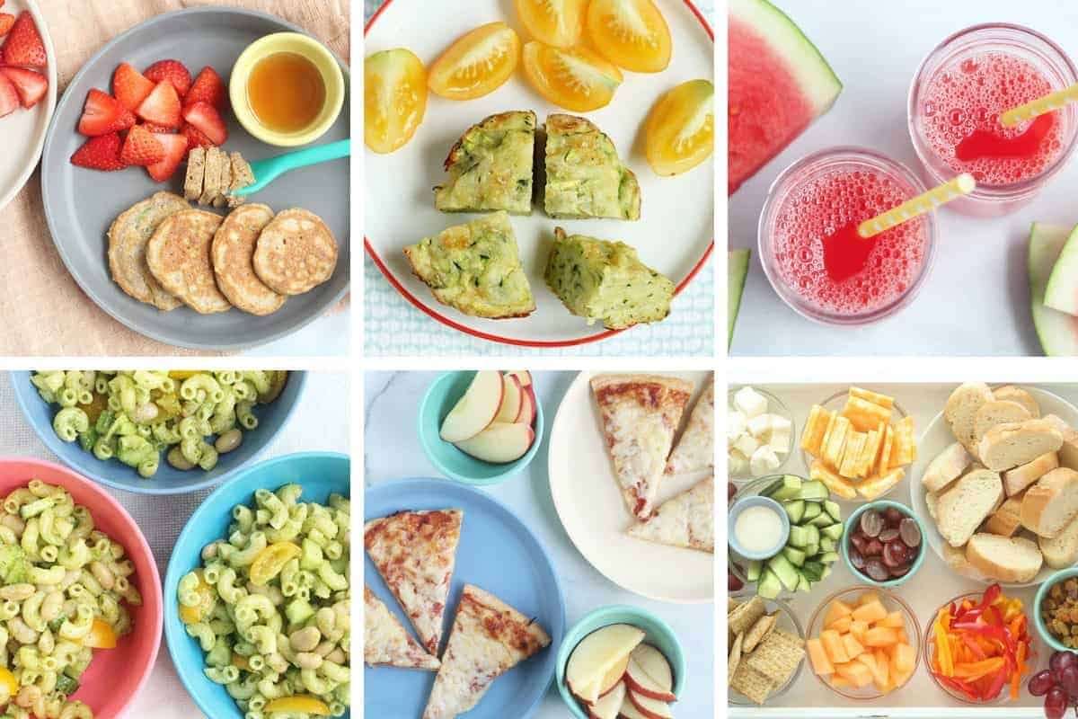 june meal plan images in grid of 6