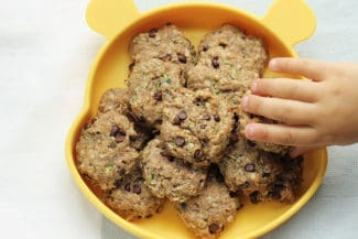 Easy Zucchini Cookies with Chocolate Chips