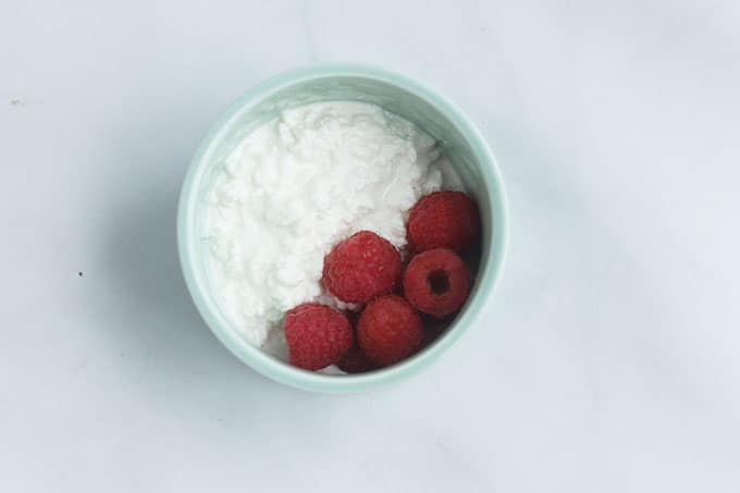 cottage-cheese-and-raspberries