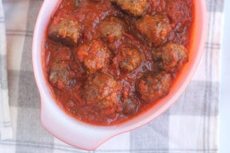 Easy Sausage Meatballs