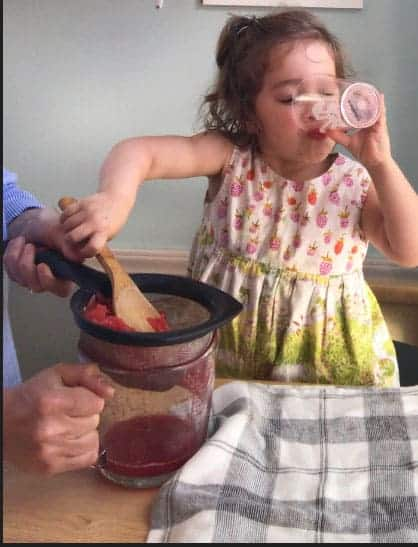 toddler-drinking-watermelon-juice