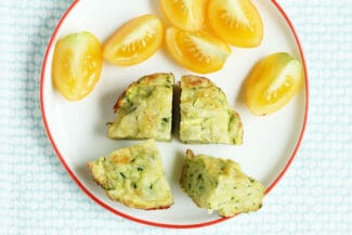 Easy Baked Zucchini Fritters Recipe