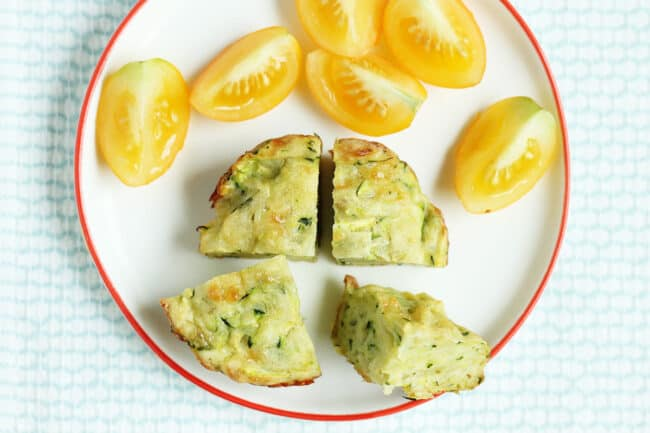 baked-zucchini-fritters-with-golden-tomatoes