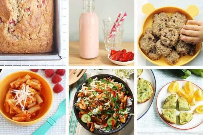 family meal plan week 3 in grid