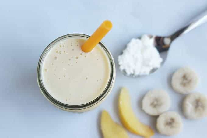 peach-cottage-cheese-smoothie-with-ingredients