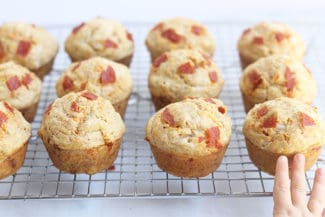 Pizza Muffins (with Veggies!)