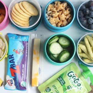 preschool-snack-assortment-on-countertop
