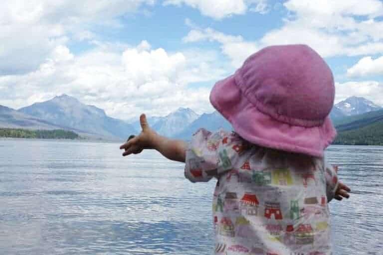 toddler-in-Glacier-Park