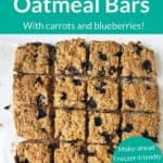 baked oatmeal bars pin 1